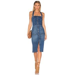Level 99 Claire Denim Dress
